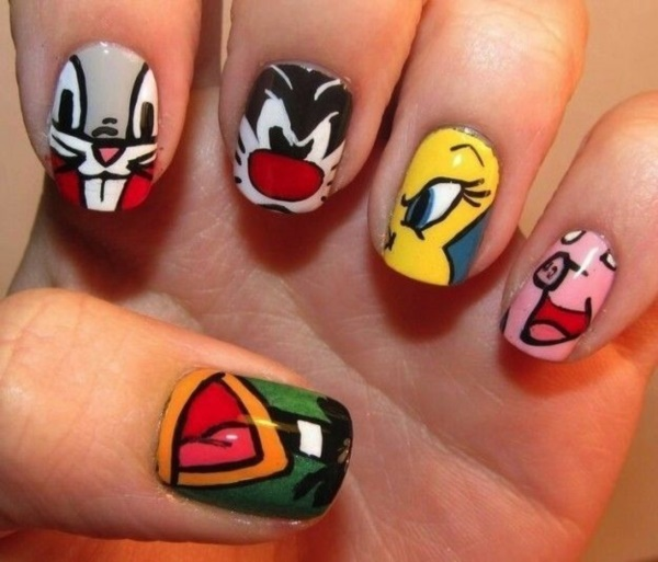 cartoon nail arts0151