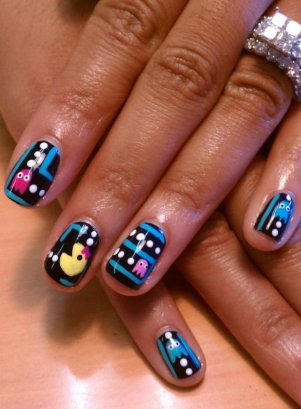 cartoon nail arts0171