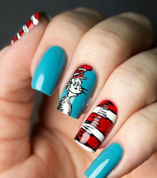 cartoon nail arts0181