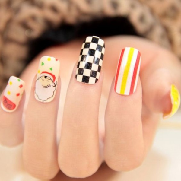 cartoon nail arts0191