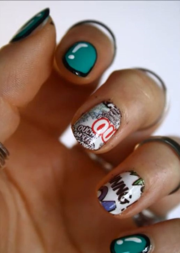 cartoon nail arts0221