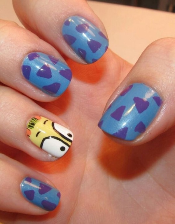 cartoon nail arts0231