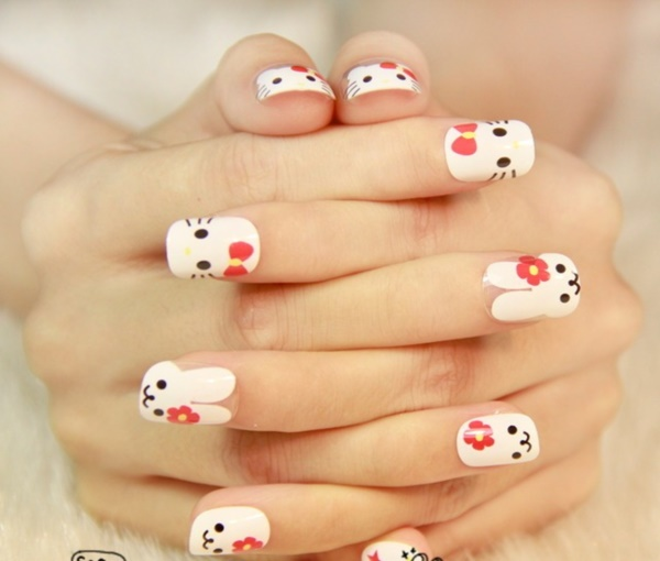 cartoon nail arts0251