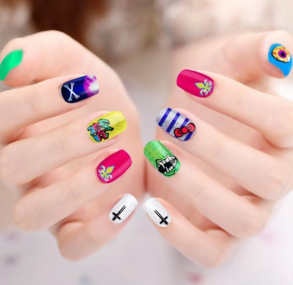 cartoon nail arts0261