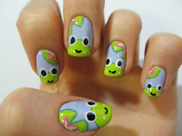 cartoon nail arts0271