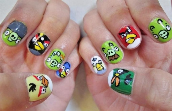 cartoon nail arts0281