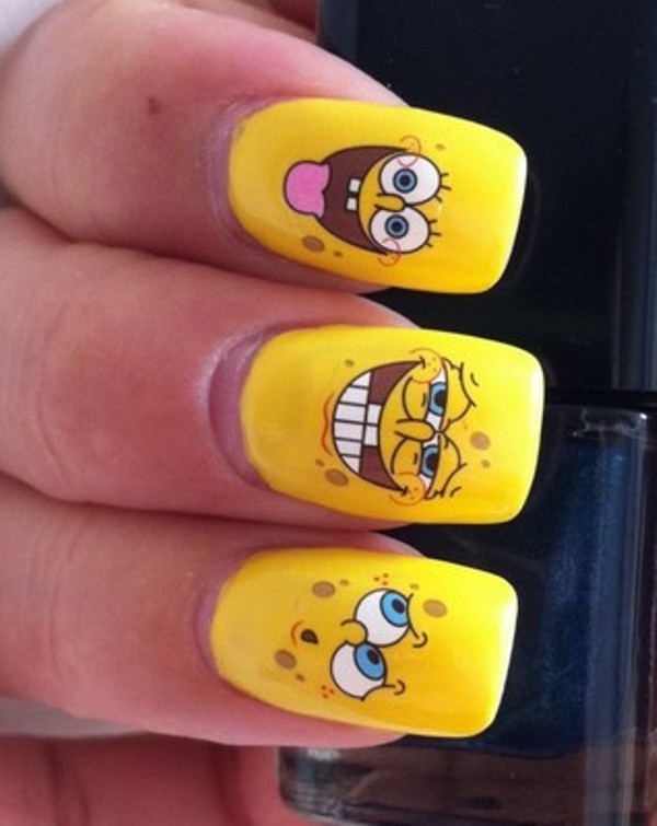 cartoon nail arts0291