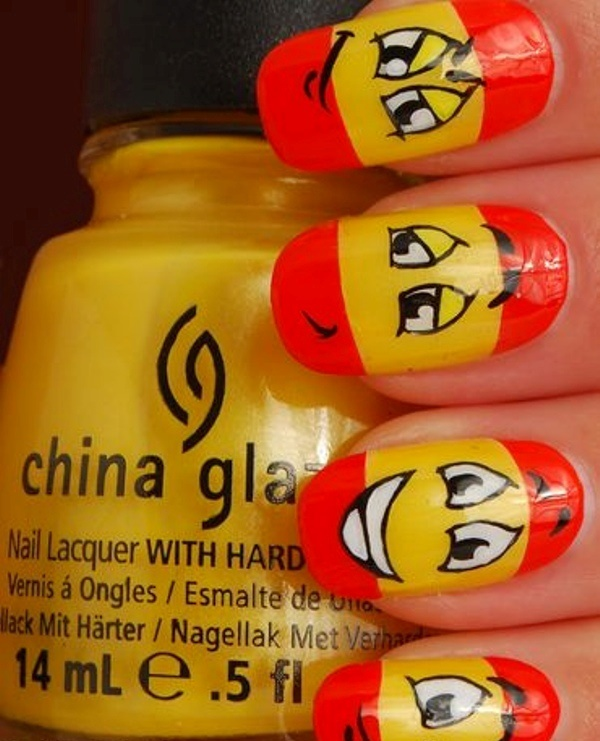cartoon nail arts0311