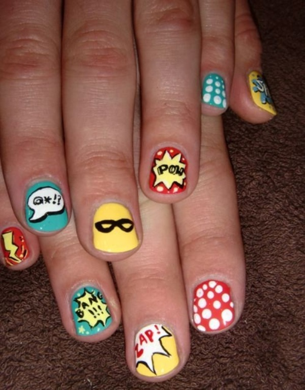 cartoon nail arts0321