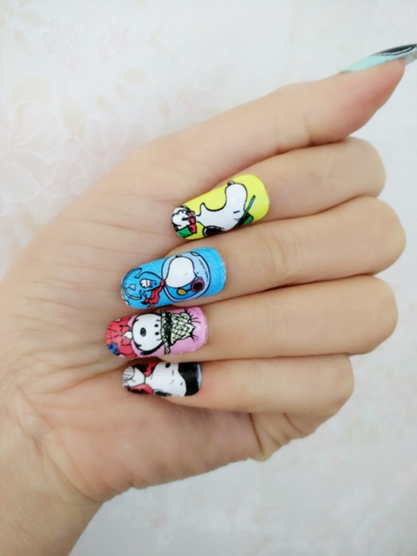 cartoon nail arts0331