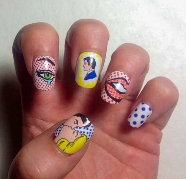 cartoon nail arts0341