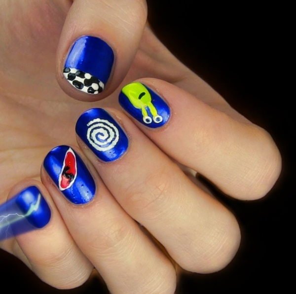 cartoon nail arts0361