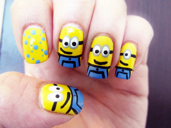 cartoon nail arts0371