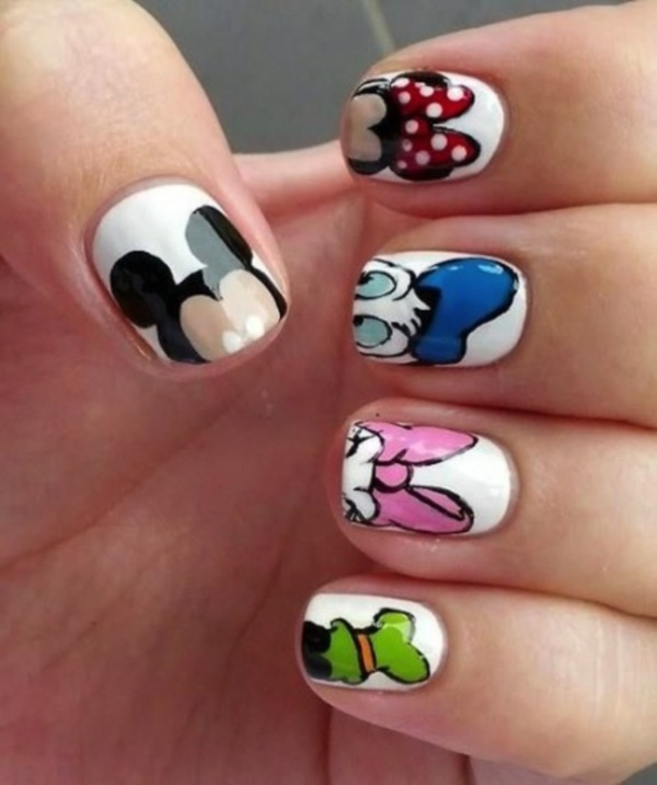 cartoon nail arts0401