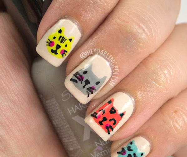 cartoon nail arts0461