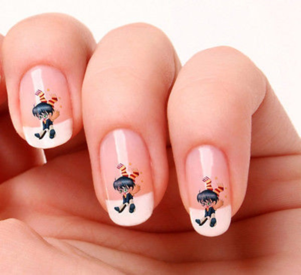 cartoon nail arts0471