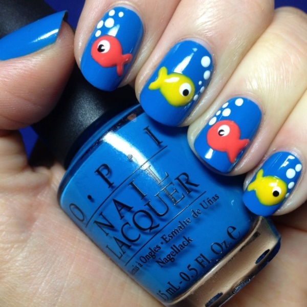 cartoon nail arts0481