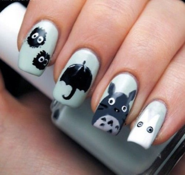cartoon nail arts0491