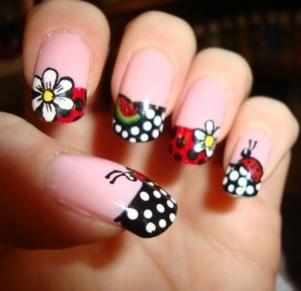 cartoon nail arts0501