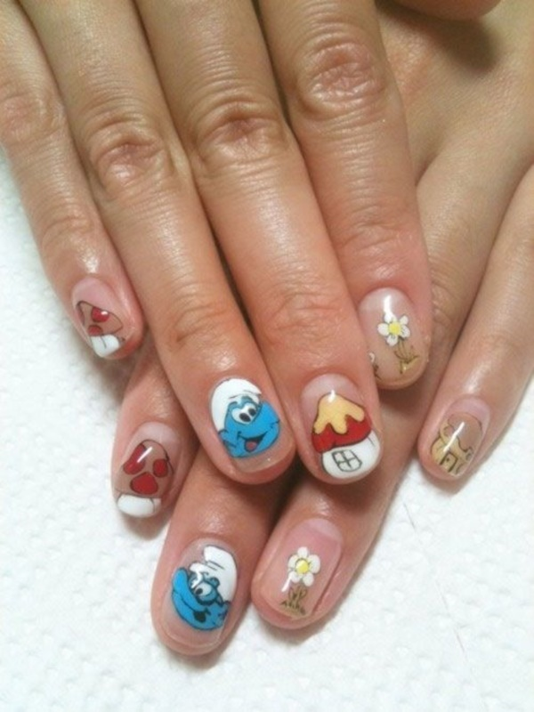 cartoon nail arts0531