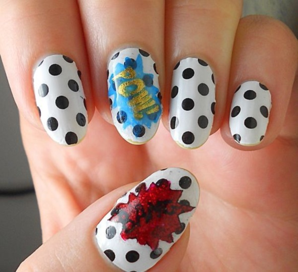 cartoon nail arts0541