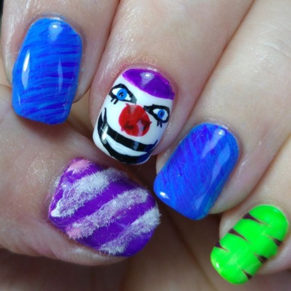 cartoon nail arts0561