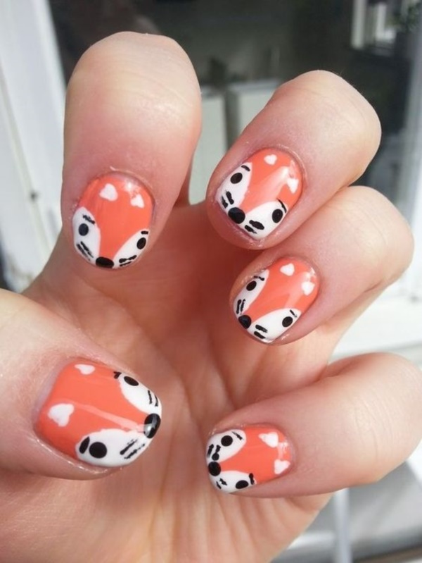 cartoon nail arts0591