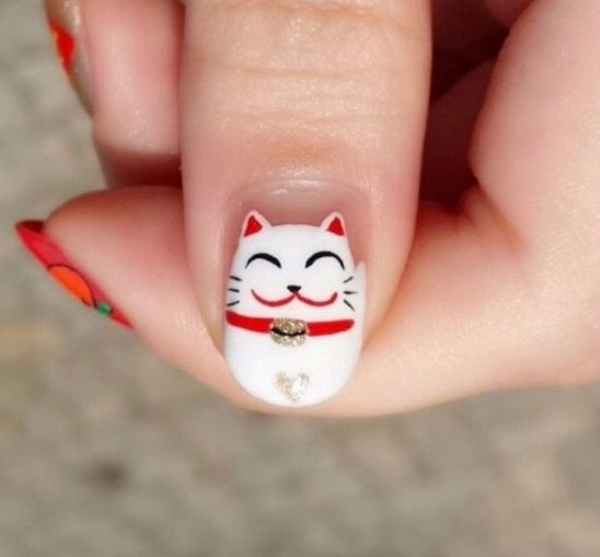 cartoon nail arts0621