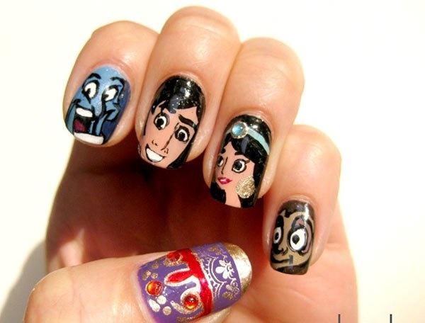 cartoon nail arts0671