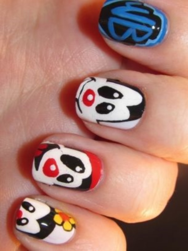 cartoon nail arts0731