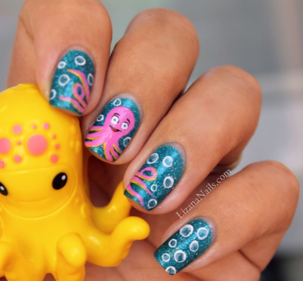 cartoon nail arts0741