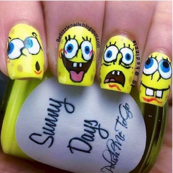 cartoon nail arts0751