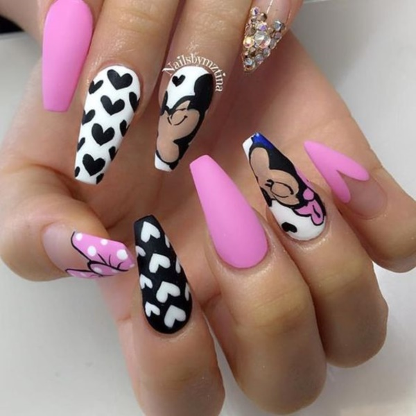 cartoon nail arts0771