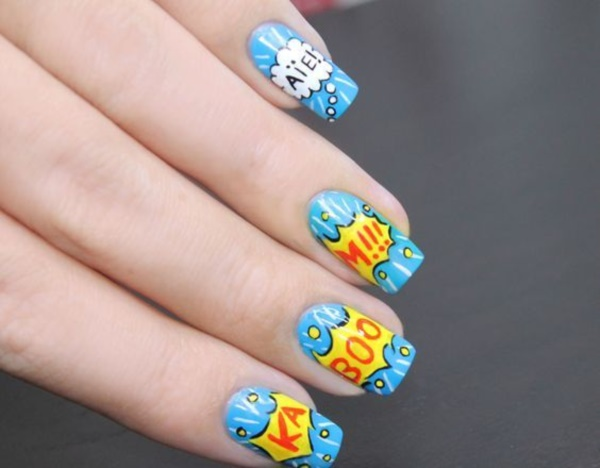 cartoon nail arts0781