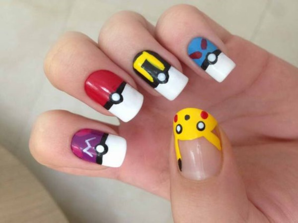 cartoon nail arts0791