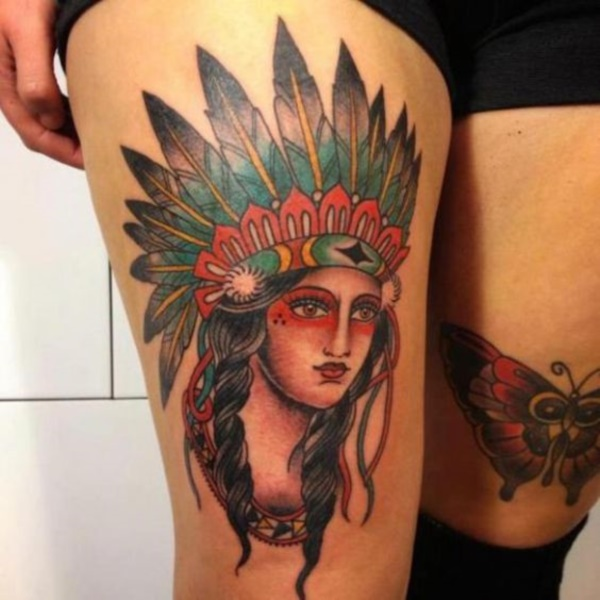 native american tattoo design0151