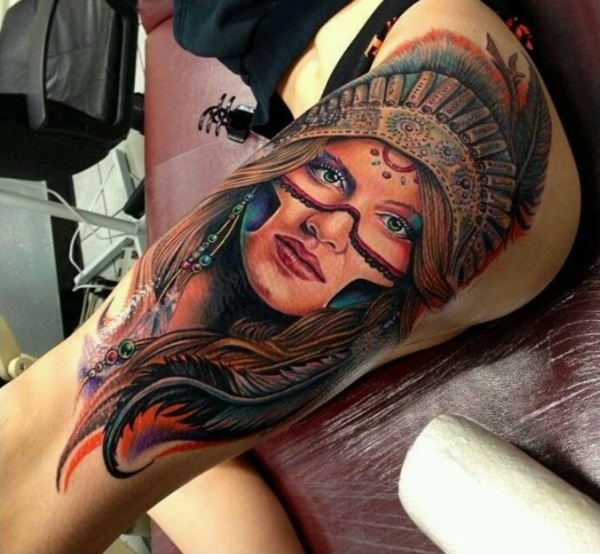 native american tattoo design0321