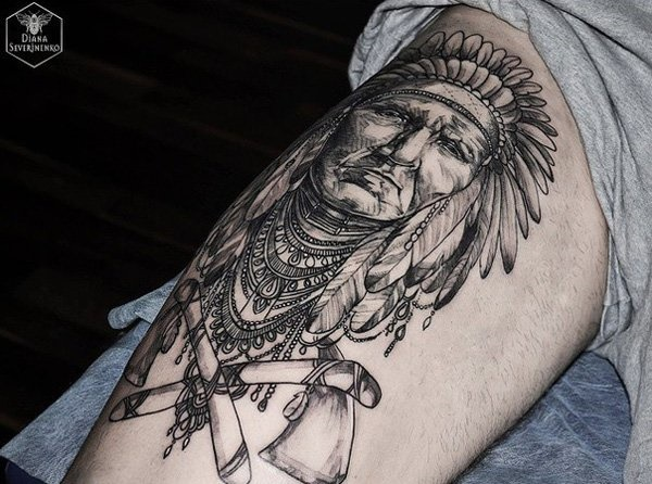 native american tattoo design0341