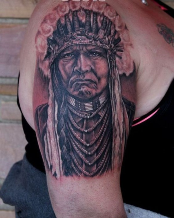 native american tattoo design0431