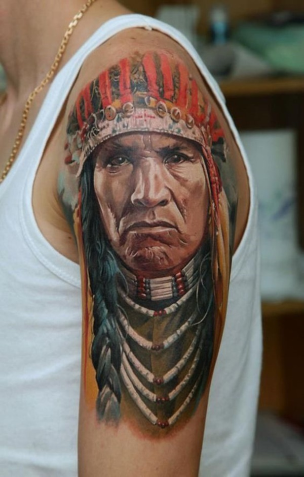 native american tattoo design0481