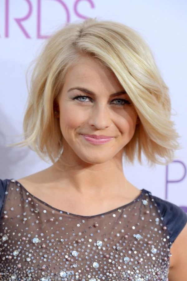 LOS ANGELES, CA - JANUARY 09: Actress Julianne Hough attends the 34th Annual People's Choice Awards at Nokia Theatre L.A. Live on January 9, 2013 in Los Angeles, California. (Photo by Frazer Harrison/Getty Images for PCA)