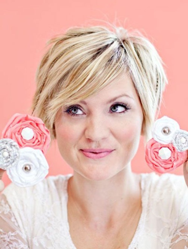 Shoulder Length Thick Hair Short Layered Haircuts 106