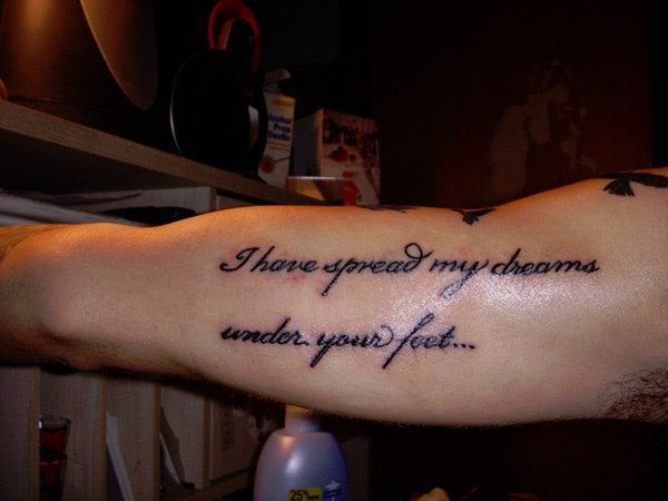 Inspirational Short Tattoo Quotes for Men and Women0021