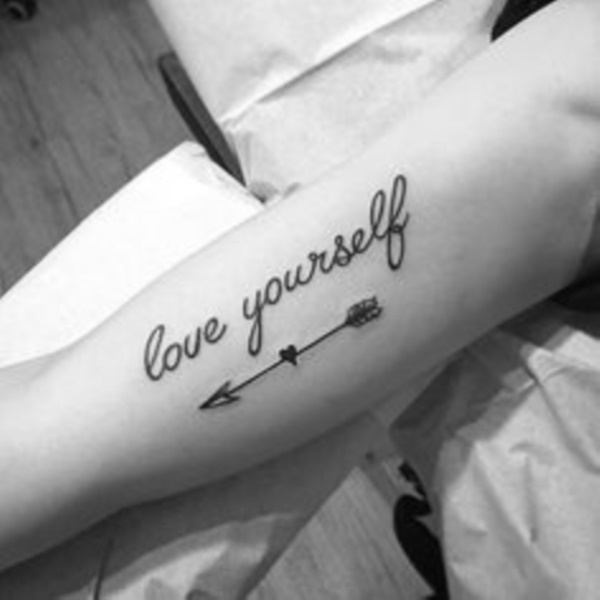 Inspirational Short Tattoo Quotes for Men and Women0131