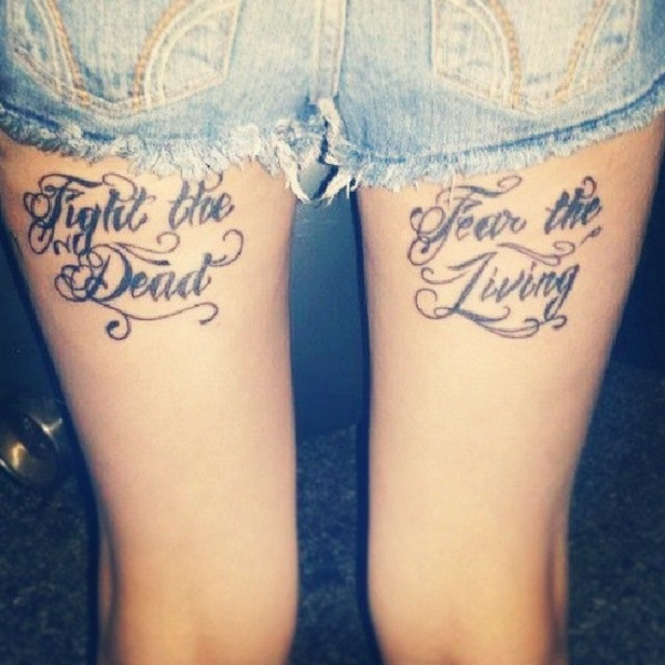 Inspirational Short Tattoo Quotes for Men and Women0311
