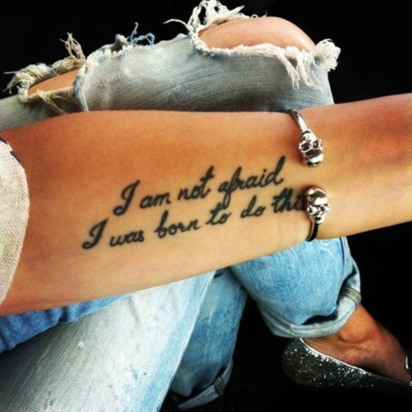 Inspirational Short Tattoo Quotes for Men and Women0351