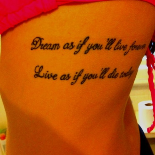 Inspirational Short Tattoo Quotes for Men and Women0481