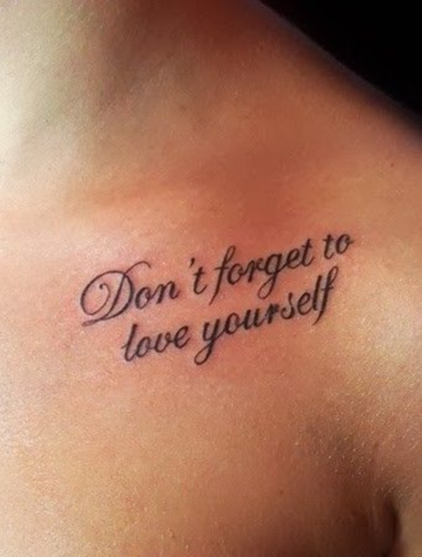 Inspirational Short Tattoo Quotes for Men and Women0601