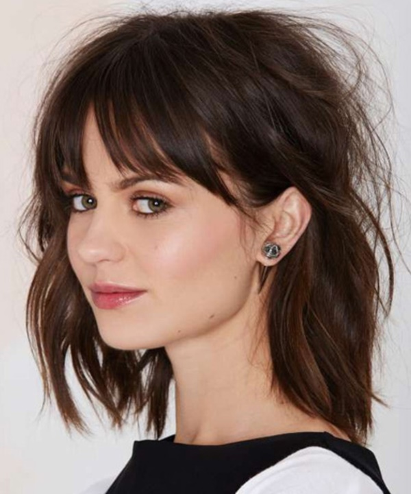 Shoulder Length Hair Styles For Women0011