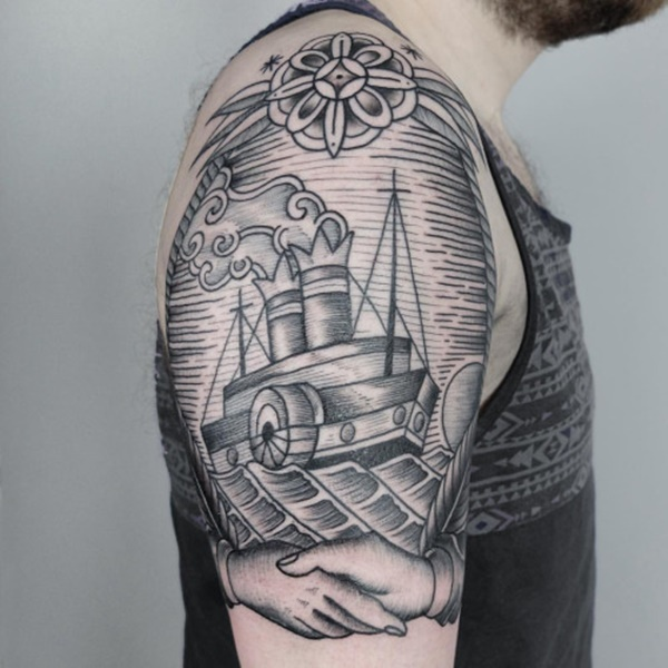 boat tattoo designs (107)